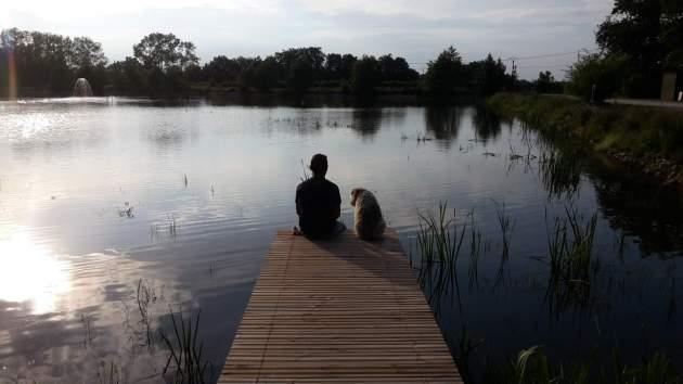 Une petite pause au bord de l'eau