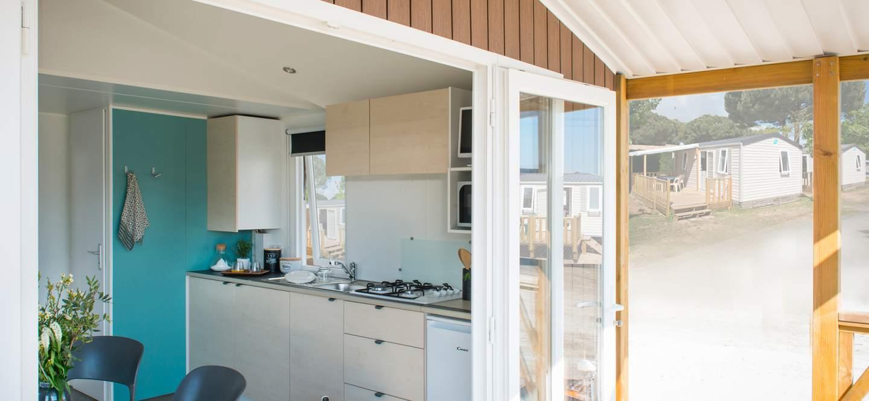 Mobil Home avec cuisine aménagée