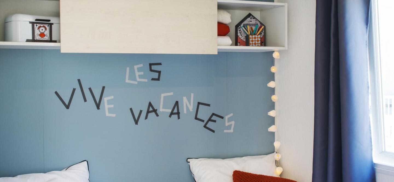 Chambre enfant mobil hom Riviera Sute