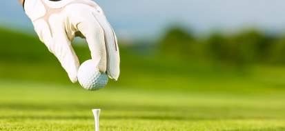 golfeur mains