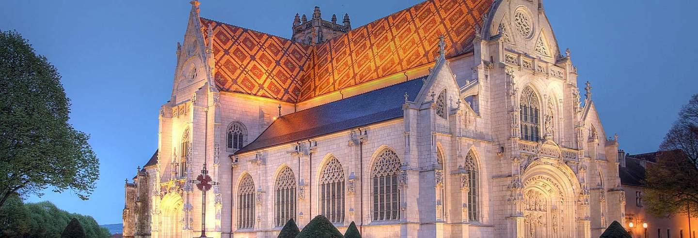 monastere royal de nuit